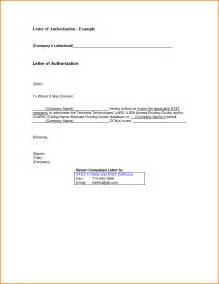 Bank Statement Letter Format Sle Of Authorization Letter To Collect Bank Statement