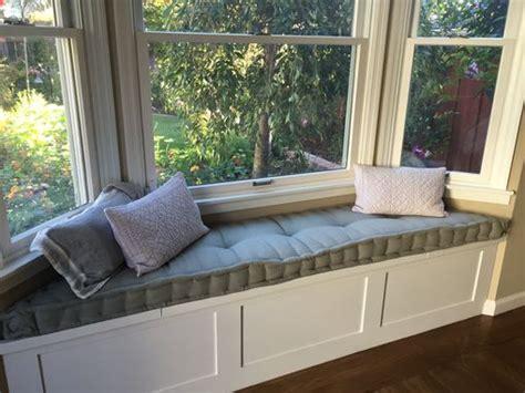 custom tufted bench cushion hand crafted custom hand tufted mattress cushion window