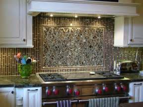 Mosaic Tile Kitchen Backsplash by Mosaic Ellipse Kitchen Backsplash And Coordinating Field Tiles