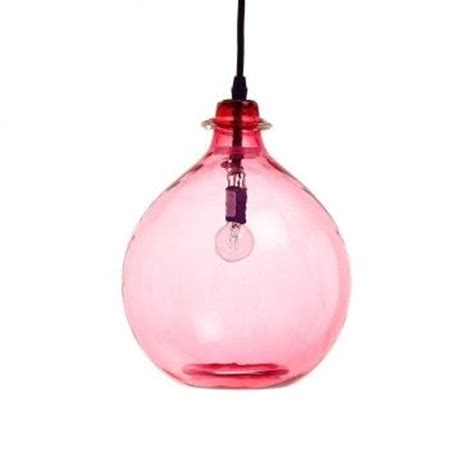 Pink Glass Pendant Light Pink Glass Jug Pendant Lighting Pinterest