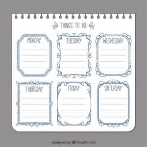 free download to do list template to do sample weekly to do list template 8 free documents