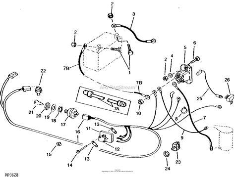 Deere 108 Parts Diagram