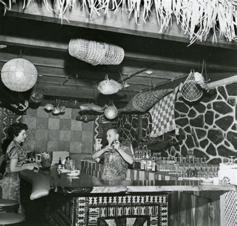 Tiki Bar Winnipeg The Beachcomber Winnipeg Canada Restaurant Tiki Central