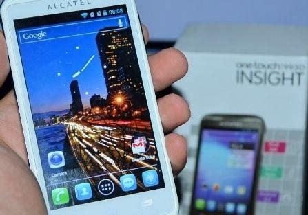 Handphone Alcatel Di Malaysia alcatel onetouch 993d insight smartphone white selangor end time 12 14 2015 12 15 00 pm myt