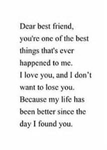 Thank You Letter Best Friend Tumblr dear best friend letters tumblr 1000 ideas about dear best friend on