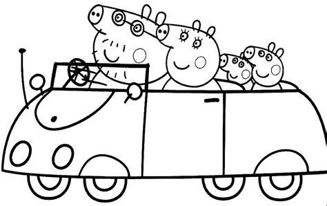 imagenes infantiles para colorear e imprimir dibujos para pintar e imprimir de peppa pig dibujos para