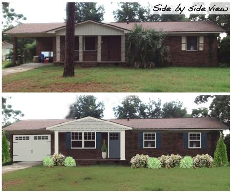 curb appeal before and after other services 3a design studio curb appeal before