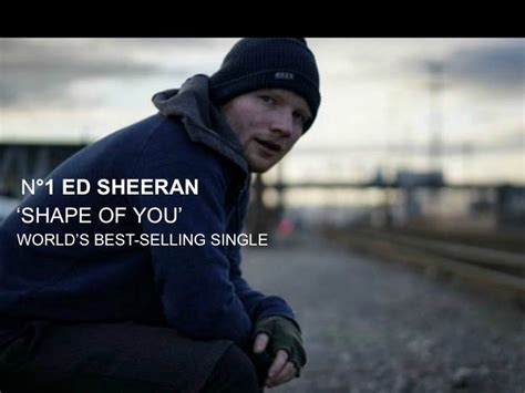 ed sheeran of you world music awards ed sheeran s shape of you leads by