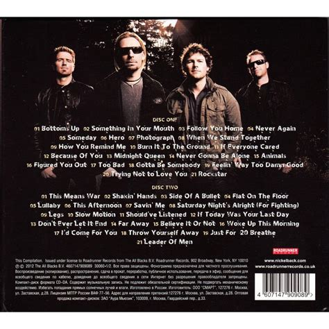 greatest hits cd1 nickelback mp3 buy tracklist