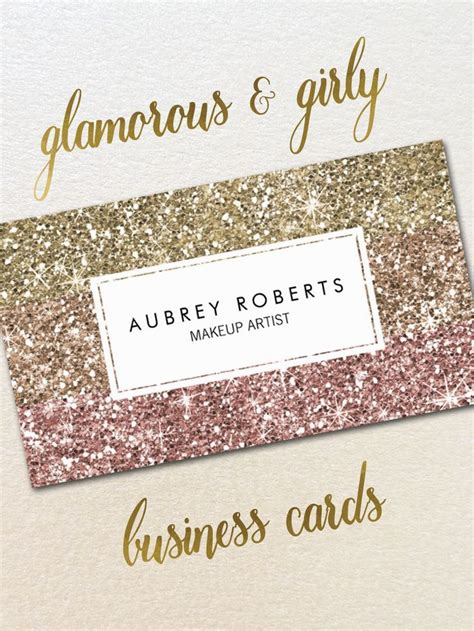 Girly Business Card Designs