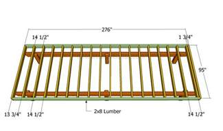 Porch Blueprints by How To Build A Front Porch Howtospecialist How To