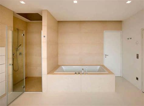 bagno con vasca incassata arredamenti moderni idee bagno qualche foto per ispirarvi