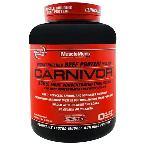 Carnivor Isolate Musclemeds 4 6 Lbs musclemeds carnivor bioengineered beef protein isolate