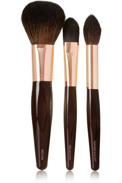 Flat Brush 3201 tilbury set of three complexion brushes net a porter