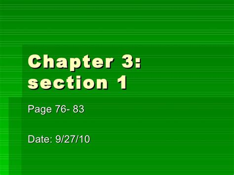 section 1 1 what is science physical science chapter 3 sec1