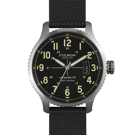 Handmade Watches Detroit - filson x shinola watches the awesomer
