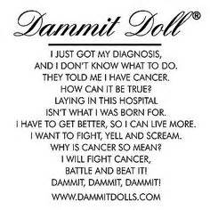 Additional views dammit doll 174 cancer doll more
