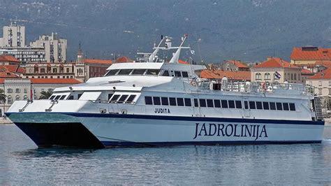 ferry catamaran novalja how to get to brac island split croatia travel guide