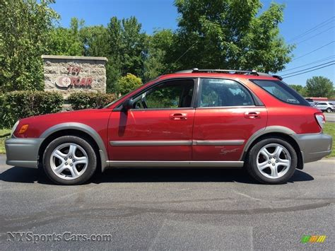 2002 subaru impreza sport 2002 subaru impreza outback sport wagon in sedona