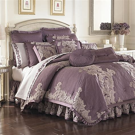 bed bath comforters bedding sets anastasia purple comforter sets bed bath beyond