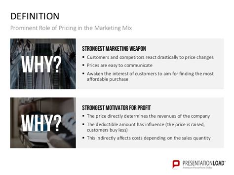 price setter definition pricing policy ppt slide template