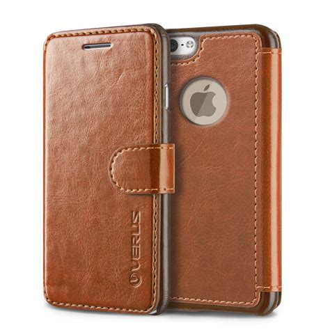 Verus Dandy Layered Leather For Iphone 6 6s Hitam Wine verus dandy layered leather for iphone 6 6s brown