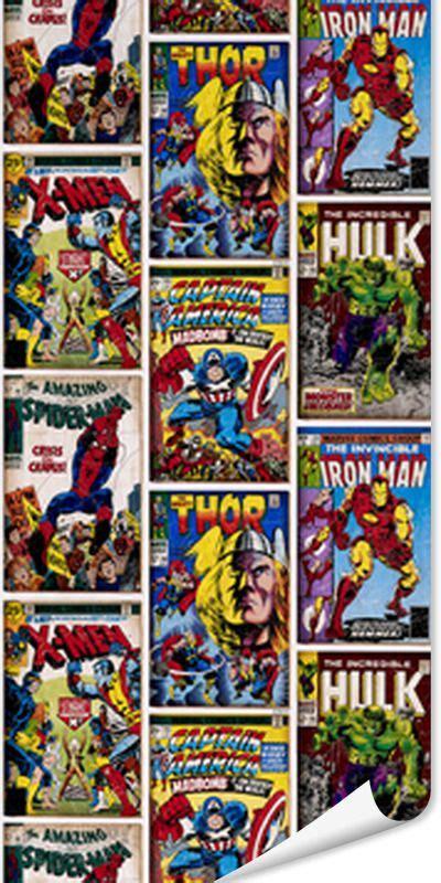 Tapisserie Marvel by Papier Peint Heros Marvel Coloris Multicolore Chambre