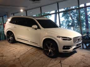 Volvo Xc90 News New Volvo Xc90 Six Vital Facts Business Car Manager