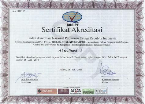 Contoh Surat Keterangan Akreditas Perguruan Tinggi by Fakultas Universitas Padjadjaran Pdf