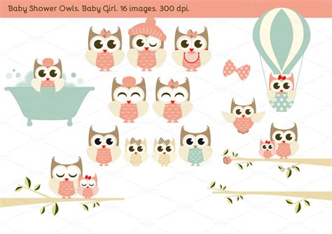 Baby Owl Baby Shower by Baby Shower Owls Baby Illustrations On Creative