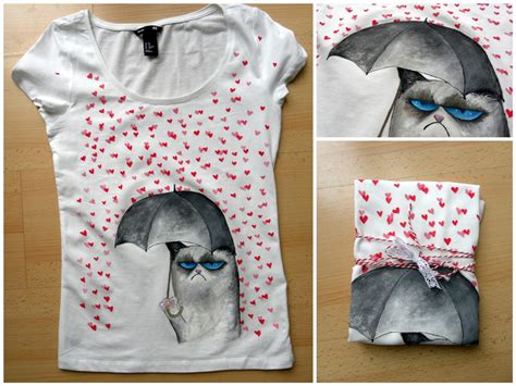 Handmade T Shirts Ideas - handmade painted t shirt chichiridiche