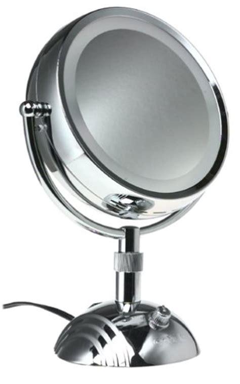 conair 5x magnified lighted makeup mirror conair led lighted makeup mirror fay blog
