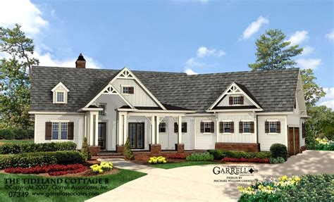 tidewater house tideland cottage house plan house plans by garrell associates inc