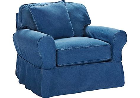 blue denim chair and ottoman 17 best images about house on