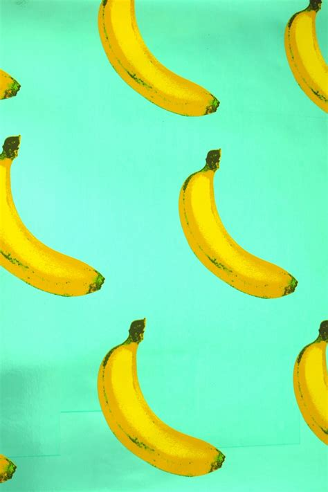 banana scented wallpaper b a n a n a s 183 flavor paper