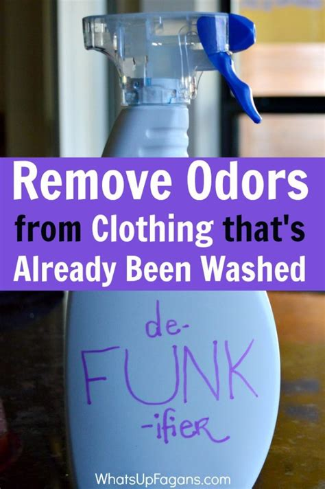 Remove Smell From by Diy Solution To Remove Odor From Clothes That Smell Funky