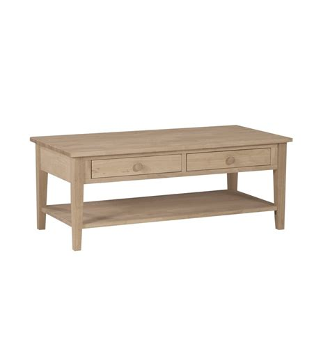 48 inch spencer coffee table simply woods furniture