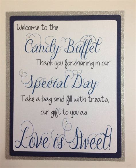 50 Best Images About Candy Buffet Banners And Signs On Sign For Buffet