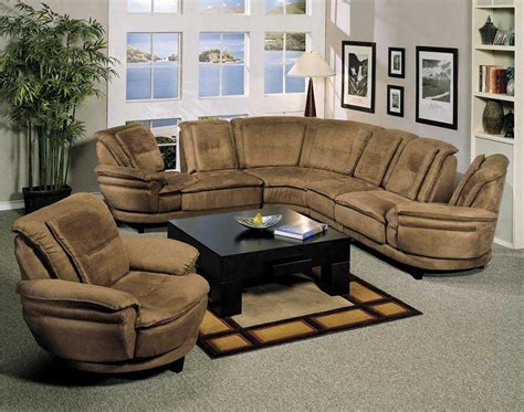 Livingroom Sectionals by Microfiber Sectional Sofas As Stylish Home Office