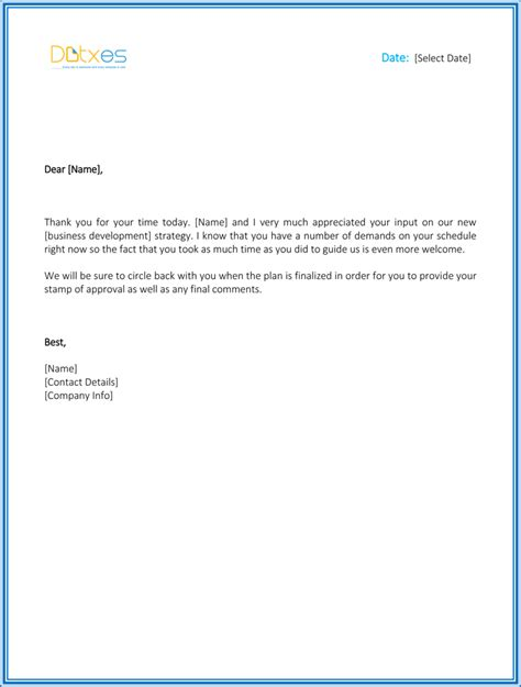 thank you letter business development business thank you letters 5 best thank you letters you