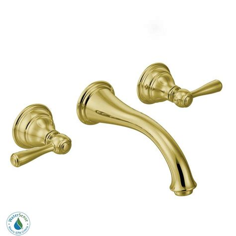 faucet com t6107p in polished brass by moen