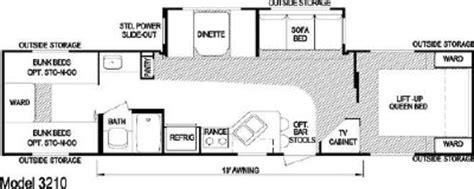 aljo travel trailer floor plans 2007 skyline aljo 3210 floorplan