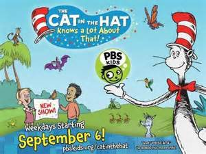 Cat in the hat promo poster the cat in the hat knows a lot about that