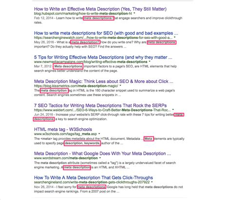 everything you need to know about meta descriptions