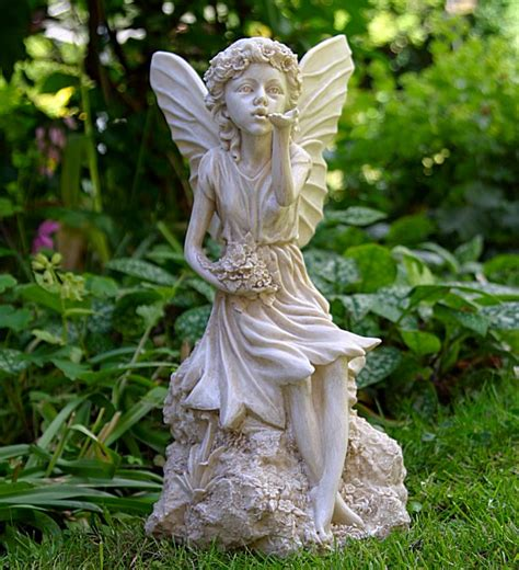 sitting fairy garden ornaments garden statues