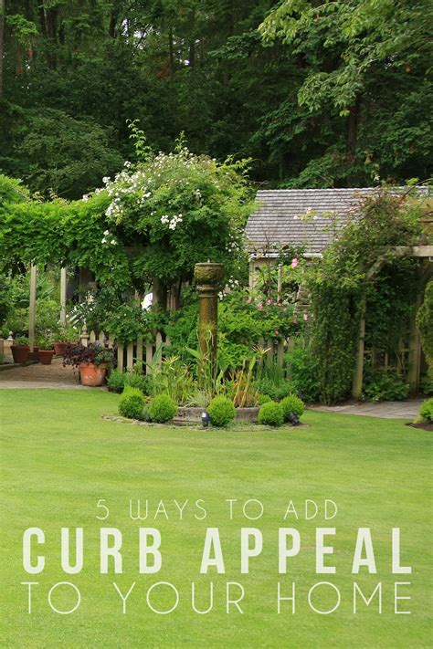 how to give your home curb appeal 5 ways to add curb appeal to your home hello nature