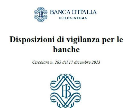 circ 263 d italia circolare n 285 introduzione quot gruppo bancario