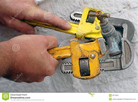Plumbing Maintenance Work Overseas by Plumbing Maintenance Tools Stock Images Image 2677904