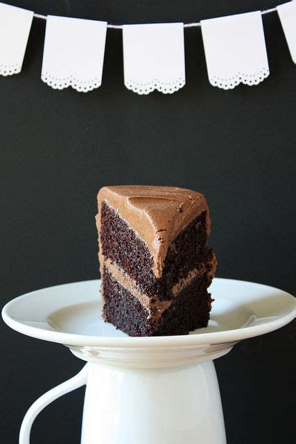 ina garten frosting best chocolate cake by luluthebaker via flickr dessert