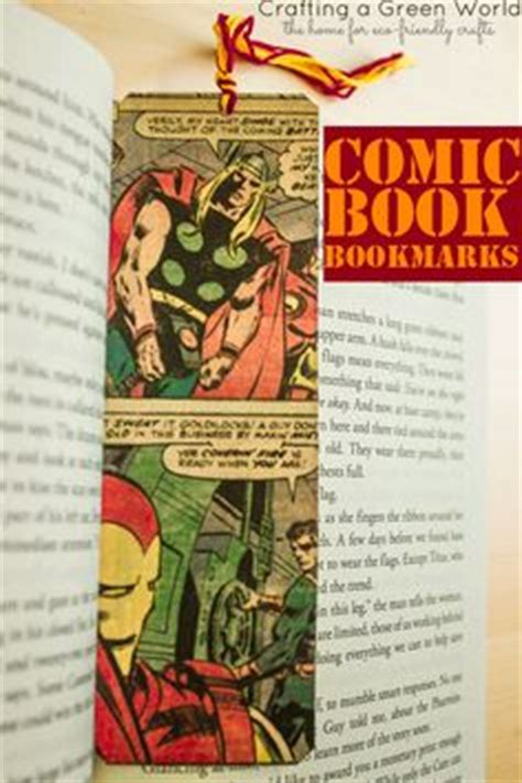 How To Make A Comic Book Out Of Paper - vintage book marks these book marks are made from vintage